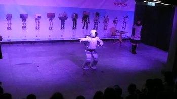 File:ASIMO - Dancing.webm