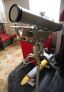 9M133 Kornet man-portable anti-tank guided missile
