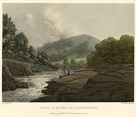 A Fall on the Dee, near Llangollen