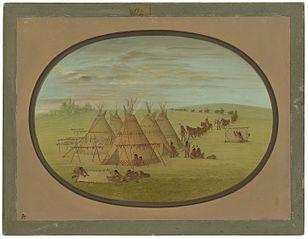A Little Sioux Village