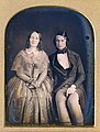 A daguerreotype of a Victorian couple in 1840s clothing.jpg
