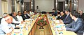 A delegation from Kazakhstan meeting the Union Minister for Mines and Steel, Shri Narendra Singh Tomar, in New Delhi on June 15, 2015. The Secretary, Ministry of Mines, Dr. Anup K. Pujari is also seen.jpg