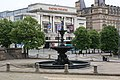 A fountain and The Empire Theatre - geograph.org.uk - 1920399.jpg