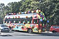 A gaily decorated tour bus in Chandigarh (43554618934).jpg