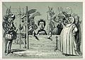 A man has his feet in the stocks and a priest and soldiers f Wellcome V0039887.jpg