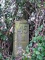 A railway milepost - geograph.org.uk - 1062500.jpg