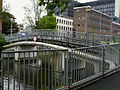 A view on the foot-bridge over the canal Nieuwe Achtergracht on Roeterseiland, Amsterdam; high resolution image by FotoDutch in June 2013.jpg