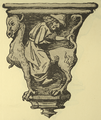 Aarschot, Notre-Dame, misericord showing caricature of a Jew.png