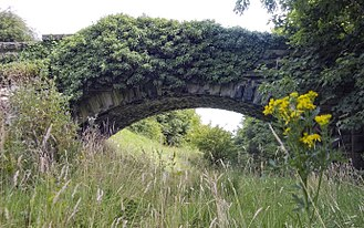 Abandoned railway - An abandoned branch of the Otley and Ilkley Joint Railway, England