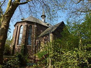 Lilbosch Abbey - Image: Abdij Lilbosch (Echt Susteren) kerk exterieur priesterkoor