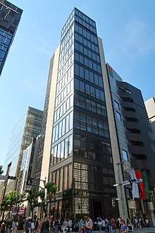 8219fcac69 The Abercrombie & Fitch flagship store in Ginza, Tokyo, Japan – the first  one in Asia