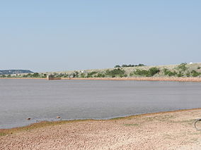 A photo of Lake Abilene in Abilene State Park