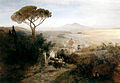 Achenbach, Oswald - Coastal landscape, Naples (1882).jpg