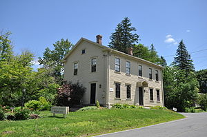 National Register of Historic Places listings in Berkshire County, Massachusetts - Image: Adams MA SB Anthony Birthplace
