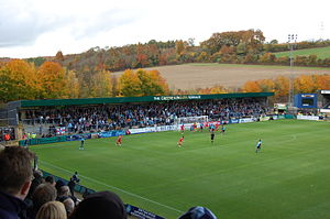 Adams Park - Bucks New University Terrace at Adams Park