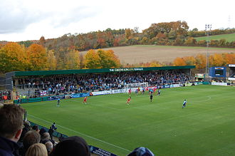 Wycombe Wanderers F.C. - Valley Terrace at Adams Park
