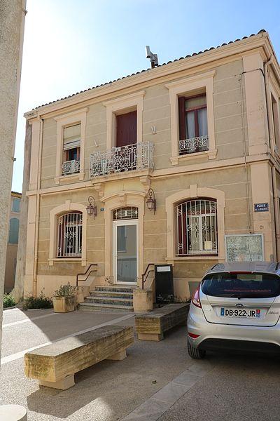 Adissan (Hérault) - ancienne mairie