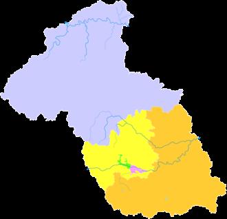 Yangquan - Image: Administrative Division Yangquan