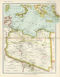 Libya To Italy Map.Italian Colonization Of Libya Wikipedia