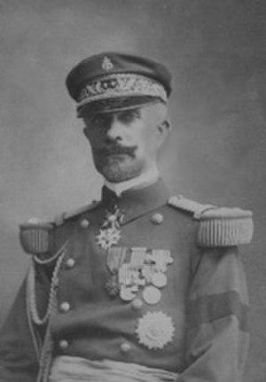 Henri du Couëdic de Kerérant - In uniform