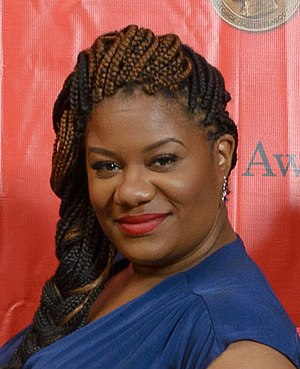 Adrienne C. Moore - Moore at the 2014 Peabody Awards
