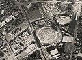 Aerial view of the Royal Brisbane Showground and surrounding areas Brisbane ca 1952 (7960321060).jpg
