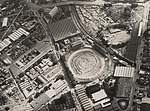 Aerial view of the Royal Brisbane Showground and surrounding areas Brisbane ca 1952 (7960321060).jpg
