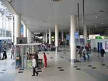 Innenansicht des internationalen terminals