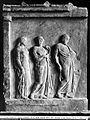 Aesculapius, with two goddesses, end of 5th century B.C. Wellcome L0003120EB.jpg