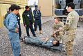 Afghan Police medic steps up training in Deh Rawud 130213-A-AD123-002.jpg