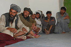 Elders are important people in the Pashtun society and often make decisions for the community.