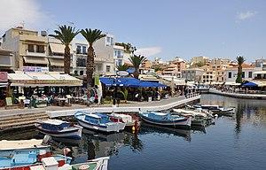 Agios Nikolaos (Crete, Greece): the old harbour