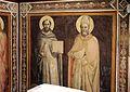 Agnolo gaddi, pietà e santi, 1375-90 ca. 05 tommaso d'aquino e nicola.jpg