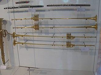 Victor-Charles Mahillon - Image: Aida trumpets