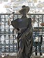 Aiguèze - Statue de Saint-Roch-02.JPG