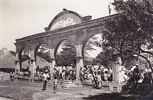 Battle of Timor - Destroyed Chinese school in Aileu, Portuguese Timor