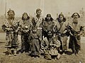 Ainu Group (Aborigines of Japan from the Island of Hokkaido or Yezo, Department of Anthropology, 1904 World's Fair).jpg