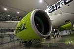 AirBaltic Bombardier CS300 mainenance (33064732782).jpg