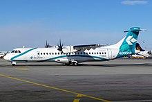 ATR 72 di Air Dolomiti pronto al rullaggio a Monaco