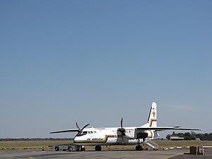 Air Zimbabwe - Air Zimbabwe MA60 aircraft in 2009