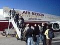 Air Berlin boarding apron.JPG