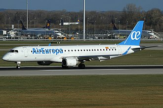 Air Europa - Embraer 195 in the new livery
