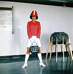 Air Hostess Uniform 1970 Lollipop 002 (9626667896).jpg