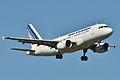 Airbus A319-100 Air France (AFR) F-GRHB - MSN 985 (9900032375).jpg
