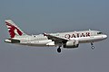 A Qatar Airways A319