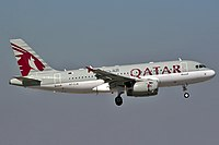 A7-CJA - A319 - Qatar Airways
