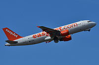 G-EZUP - A320 - EasyJet