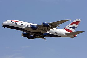 Airbus A380-800 der British Airways