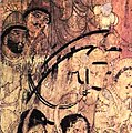 Ajanta Cave 17 Descent from Heaven Left Wall horsemen detail.jpg