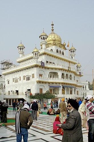 Shiromani Gurdwara Parbandhak Committee - Image: Akal Takht Sahib